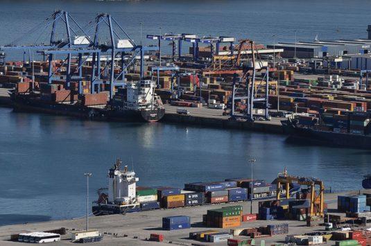 Terminal de contenedores del Puerto de Bilbao