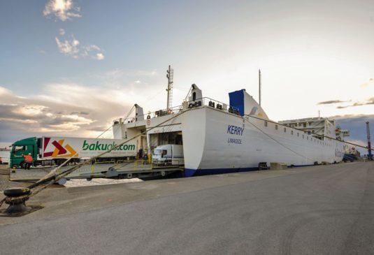 Operaciones de Brittany Ferries en el puerto de Bilbao