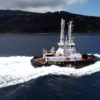 New gas and diesel-powered tugboat