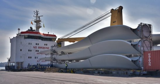 A wind hub and specialists in project cargo