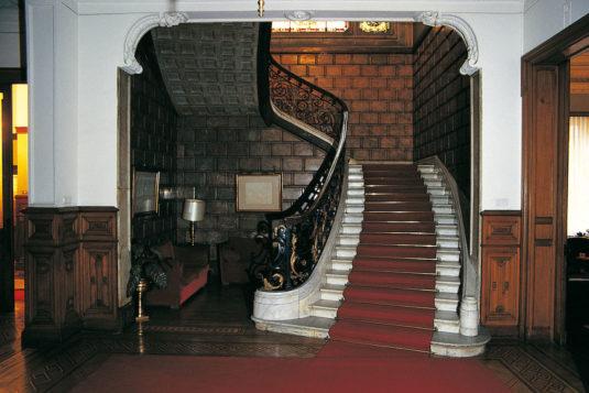 Flight of staris in the Olabarri Palace