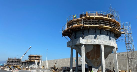 Construction moving forward on first floating wind platform set to be installed at BiMEPz