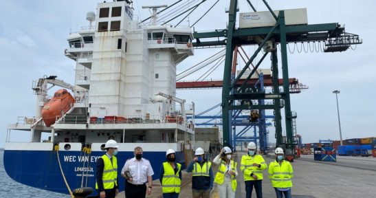 W.E.C Lines expands its service capacity on the line which started in January between the Port of Bilbao and the north of Europe and the United Kingdom
