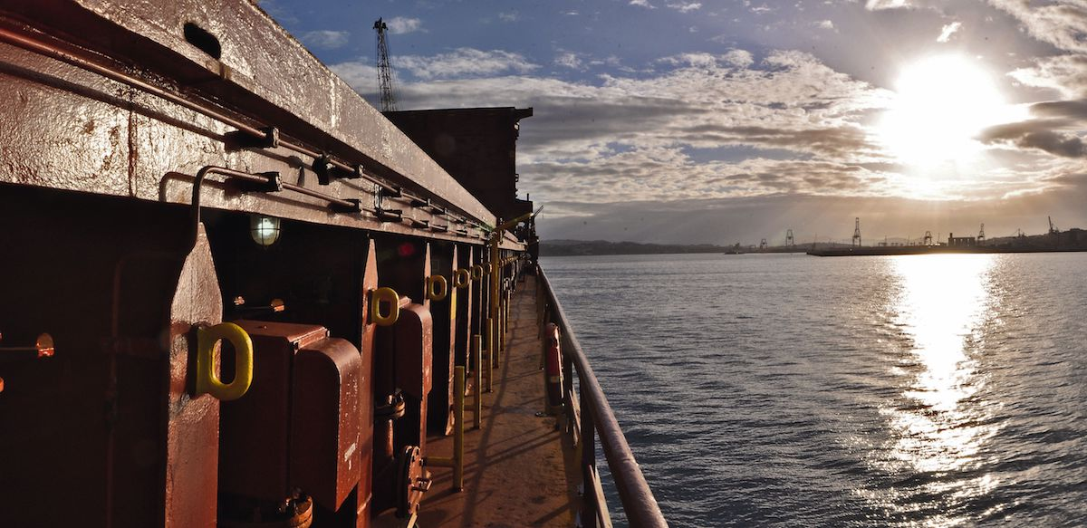 Detalle de un buque