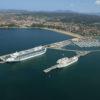 Cruceros en la terminal de Getxo
