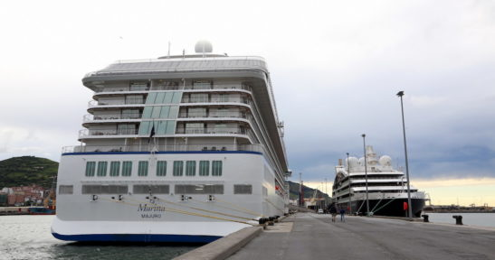Cruise activity in the Basque Country boosted this week with the arrival of five cruise liners