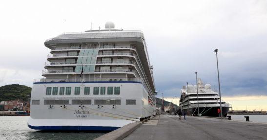 La actividad crucerística de Euskadi se reactiva esta semana con el atraque de cinco cruceros