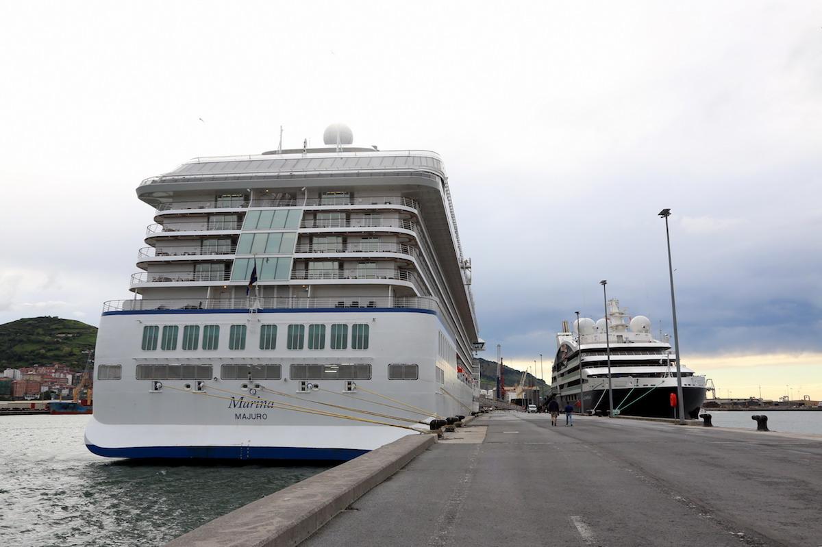 El crucero MARINA en Getxo, hace dos años