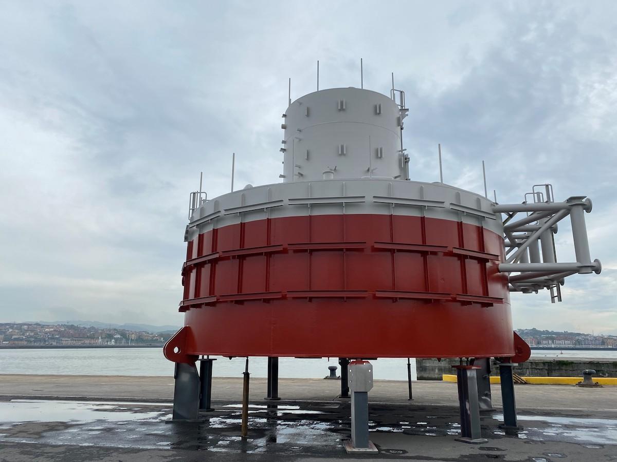 Detalle del laboratorio offshore