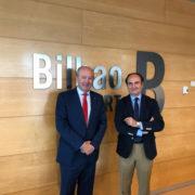 Visita del presidente de la AP de la Bahía de Algeciras al Puerto de Bilbao