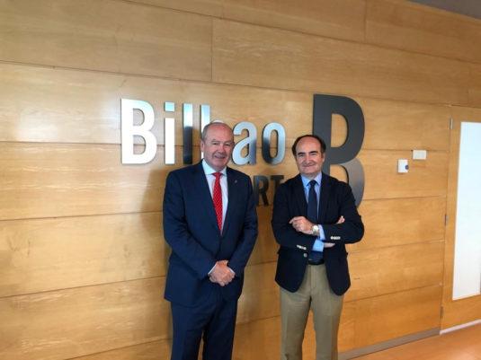 Visita del presidente de la AP de la Bahía de Algeciras